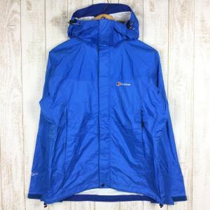 バーグハウス BERGHAUS スカイライン ジャケット SKYLINE JACKET AQ2.5 防水 2.5L レインジャケット  WOMEN's 12 ブルー系|2ndgear-outdoor
