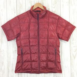 モンベル MONTBELL U.L.ダウンT ダウンシャツ  Asian MEN's L レッド系|2ndgear-outdoor