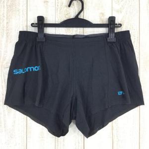 サロモン SALOMON S-LAB ショート 4 S-LAB SHORT 4  International MEN's M ブラック系|2ndgear-outdoor