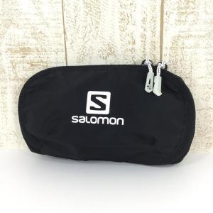 サロモン SALOMON カスタム ジップ ポケット CUSTOM ZIPPED POCKET  One ブラック系|2ndgear-outdoor