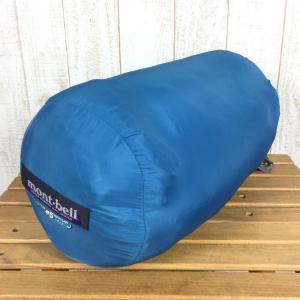 モンベル MONTBELL スーパー バロー バッグ #5 Super Burrow Bag #5 化繊中綿シュラフ 寝袋  One ブルー系|2ndgear-outdoor