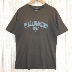 【MEN's M】ブラックダイヤモンド コットン Tシャツ BLACK DIAMOND ブラウン系|2ndgear-outdoor