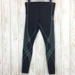 シーダブリューエックス CW-X スタビライクスモデル ロング タイツ  Asian MEN's M ブラック系|2ndgear-outdoor