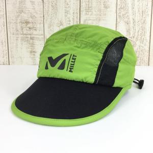 ミレー MILLET ランニング キャップ  UNISEX One グリーン系|2ndgear-outdoor
