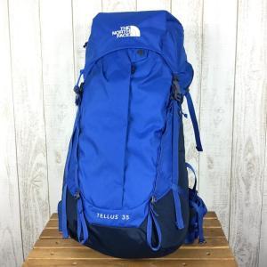 ノースフェイス テルス35 Tellus 35 バックパック NORTH FACE NM61810 UNISEX L TB ターキッシュブルー ブルー|2ndgear-outdoor