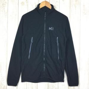 【MEN's S】ミレー K ライト グリッド ジャケット MILLET MIV8269 ブラック系 2ndgear-outdoor