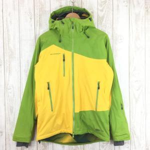 【MEN's S】マムート エリッツ ジャケット Eriz Jacket MAMMUT 1010-14180 6151 peridot-yellow|2ndgear-outdoor