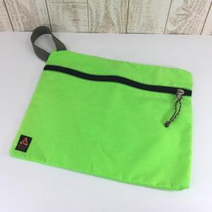 ミステリーランチ フラット バッグ FLAT BAG Lサイズ アメリカ製 ネオングリーン 希少モデル 希少色 MYSTERY RANCH L ネオン|2ndgear-outdoor