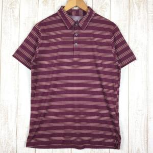 【MEN's M】マウンテンハードウェア クイックドライ ポロシャツ MOUNTAIN HARDWEAR OM0603 レッド系|2ndgear-outdoor
