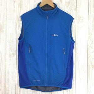 ラブ RAB ヴェイパー ライズ ライト ベスト Vapour-Rise Lite Vest  International MEN's M ブルー系|2ndgear-outdoor