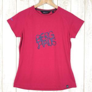 バーグハウス クイックドライ ロープ ロゴ Tシャツ BERGHAUS 20187 WOMEN's 12 レッド系|2ndgear-outdoor