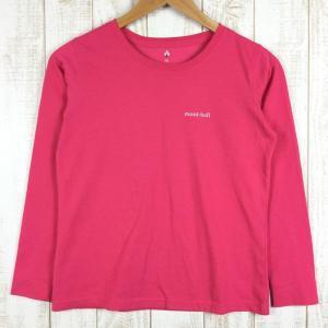モンベル WIC.ロングスリーブT MONTBELL 1114113 Asian WOMEN's XS ピンク系|2ndgear-outdoor