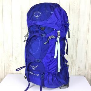 オスプレー エーリエル AG 65 バックパック 女性モデル OSPREY  OS50066 WOMEN's S ブルー系|2ndgear-outdoor