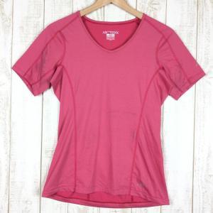 【WOMEN's S】アークテリクス クイックドライ Tシャツ ARCTERYX ピンク系 2ndgear-outdoor