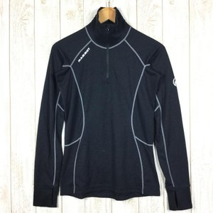 マムート MAMMUT Zip Longsleeve Warm-Quality  International WOMEN's M ブラック系|2ndgear-outdoor