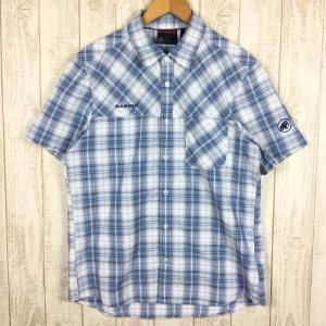 マムート MAMMUT エイノ シャツ Eino Shirt  International MEN's L ブルー系|2ndgear-outdoor