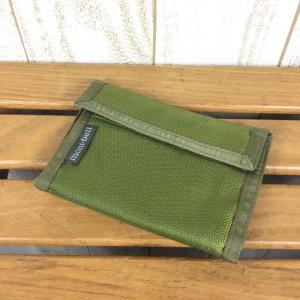 モンベル MONTBELL ワレット 財布 ウォレット  One グリーン系|2ndgear-outdoor