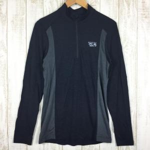 マウンテンハードウェア MOUNTAIN HARDWEAR インテグラル ロングスリーブジップ Tシャツ  International MEN's S 2ndgear-outdoor