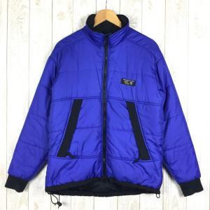 マウンテンハードウェア MOUNTAIN HARDWEAR シンセティック インサレーション ジャケット  MEN's L ブルー系 2ndgear-outdoor