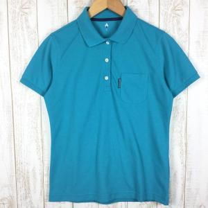 モンベル WIC.ポロシャツ MONTBELL 1114229 Asian WOMEN's L ブルー系|2ndgear-outdoor