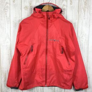 モンベル ストームクルーザージャケット MONTBELL 1128445 Asian MEN's S HRD ホットレッド レッド系|2ndgear-outdoor