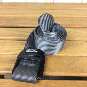 マウンテンハードウェア MOUNTAIN HARDWEAR ダブル バック ベルト Double Back Belt  One チャコール系 2ndgear-outdoor