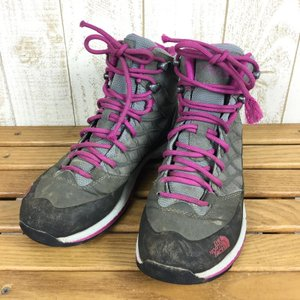 ノースフェイス ゴアテックス トレッキングシューズ NORTH FACE A4YL WOMEN's US6 UK4 EUR37 23.0cm ピンク系|2ndgear-outdoor