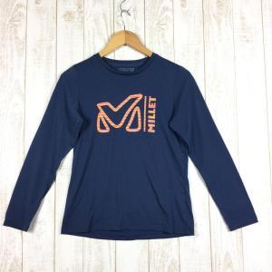 ミレー MILLET LD Mトリム Tシャツ ロングスリーブ LD M-TRIM TS LS  International WOMEN's S ネイ|2ndgear-outdoor