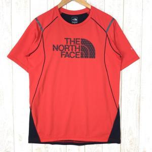 ノースフェイス ショートスリーブ ベター ザン ネイキッド クルー NORTH FACE NT11978 Asian MEN's XL オレンジ系|2ndgear-outdoor