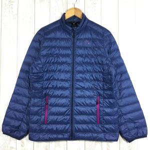 【WOMEN's L】ミレー ライト ダウン ジャケット MILLET MIV01185 ネイビー系 2ndgear-outdoor