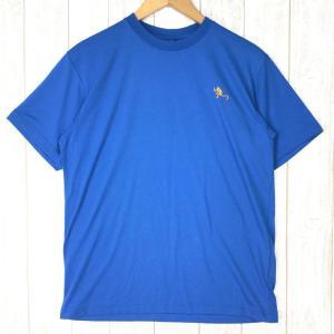 ノースフェイス モンキー マジック ティー MONKEY MAGIC TEE NORTH FACE NT31221 Asian MEN's L ブルー|2ndgear-outdoor
