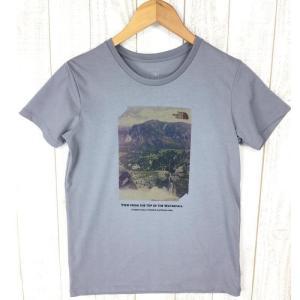 ノースフェイス ネイチャー フォト ティー Tシャツ NORTH FACE NTW31534 Asian WOMEN's M グレー系|2ndgear-outdoor