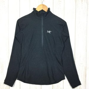 アークテリクス ARCTERYX デルタ LT ジップネック Delta LT Zip-Neck  International WOMEN's S ブ|2ndgear-outdoor