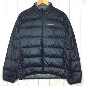 モンベル ライト アルパイン ダウン ジャケット 800FP MONTBELL 1101289 Asian MEN's S ブラック系|2ndgear-outdoor