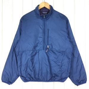 【MEN's S】パタゴニア パフボール プルオーバー 1996年 生産終了モデル 希少色 入手困難 PATAGONIA 84002 ストームブルー×|2ndgear-outdoor