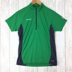 マムート トレイル ハーフスリーブ ジップ シャツ Trail Half Sleeve Zip Shirts ポーラテック パワードライ MAMMUT|2ndgear-outdoor