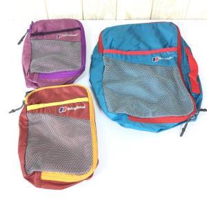 バーグハウス BERGHAUS メッシュ ポケット パッキングオーガナイザー 3個セット  One ブルー・レッド・パープル ブルー系|2ndgear-outdoor