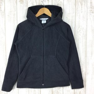 【WOMEN's S】コロンビア フリース パーカー COLUMBIA XL6572 ブラック系|2ndgear-outdoor
