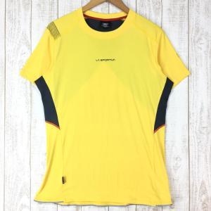 スポルティバ ブリッツ Tシャツ BLITZ T-SHIRT SPORTIVA J72 International MEN's L イエロー系|2ndgear-outdoor