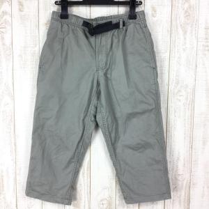 グラミチ GRAMICCI ミドル カット パンツ MIDDLE CUT PANTS  MEN's S グレー系|2ndgear-outdoor