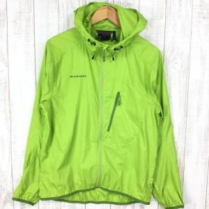 マムート サロバージャケット SALOBER JACKET ウィンドシェル MAMMUT 1010-09200 MEN's S グリーン系|2ndgear-outdoor