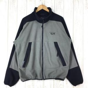 【MEN's XL】マウンテンハードウェア ゴアウィンドストッパー フリース ジャケット MOUNTAIN HARDWEAR グレー系|2ndgear-outdoor