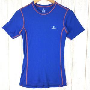 ファイントラック メリノスピン ライト Tシャツ FINE TRACK FUM0703 Asian MEN's M ブルー系|2ndgear-outdoor