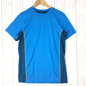 マウンテンハードウェア ウィックド ライト ショートスリーブ Tシャツ MOUNTAIN HARDWEAR OE6532 MEN's L ブルー系 2ndgear-outdoor