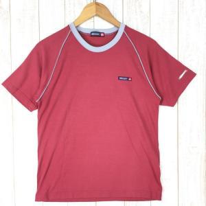 ミレー MILLET X-ALPINE クラシックロゴ クイックドライ Tシャツ  MEN's M レッド系|2ndgear-outdoor