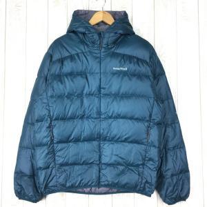 モンベル ライト アルパイン ダウン ジャケット フーディ 800FP MONTBELL 1101361 Asian MEN's XL ブルー系|2ndgear-outdoor