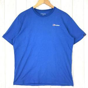 バーグハウス クライミング Tシャツ BERGHAUS J0405 Asian MEN's XL ブルー系|2ndgear-outdoor
