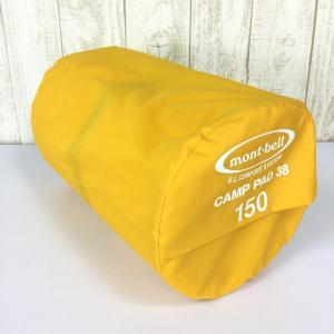 モンベル UL コンフォートシステム キャンプパッド38 150 MONTBELL 1124664 150 イエロー系|2ndgear-outdoor