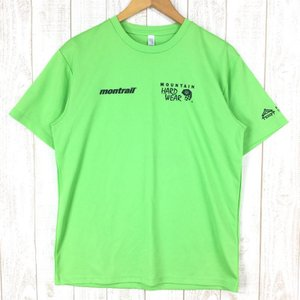 【MEN's L】マウンテンハードウェア × モントレイル × 北信濃トレイルフリークス 戸隠マウンテントレイル 大会Tシャツ MOUNTAIN HA|2ndgear-outdoor