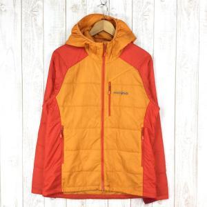【MEN's L】モンベル ULサーマラップ パーカ MONTBELL 1101538 オレンジ系|2ndgear-outdoor